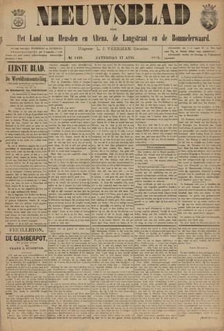 Nieuwsblad het land van Heusden en Altena de Langstraat en de Bommelerwaard 1895-08-17