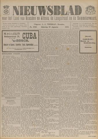 Nieuwsblad het land van Heusden en Altena de Langstraat en de Bommelerwaard 1918-08-10
