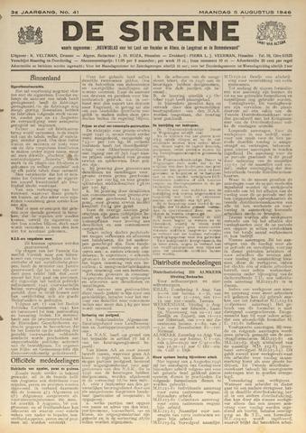 De Sirene 1946-08-05