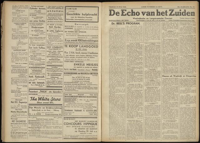 Echo van het Zuiden 1946-07-19