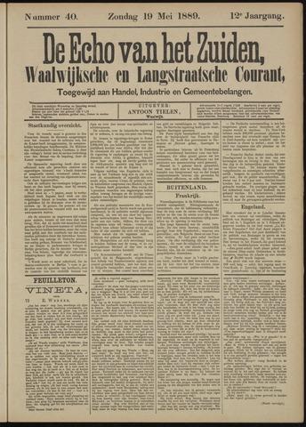 Echo van het Zuiden 1889-05-19
