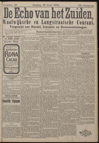 Echo van het Zuiden 1912-06-16