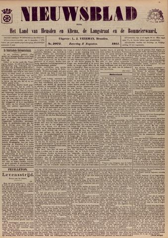 Nieuwsblad het land van Heusden en Altena de Langstraat en de Bommelerwaard 1911-08-05