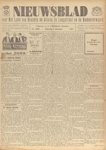Nieuwsblad het land van Heusden en Altena de Langstraat en de Bommelerwaard 1917-12-01
