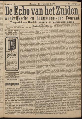 Echo van het Zuiden 1912-01-14