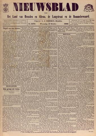 Nieuwsblad het land van Heusden en Altena de Langstraat en de Bommelerwaard 1906-10-17