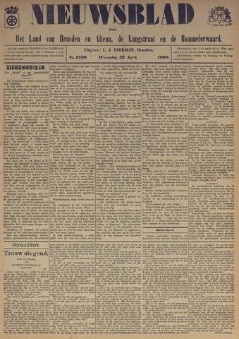 Nieuwsblad het land van Heusden en Altena de Langstraat en de Bommelerwaard 1908-04-22
