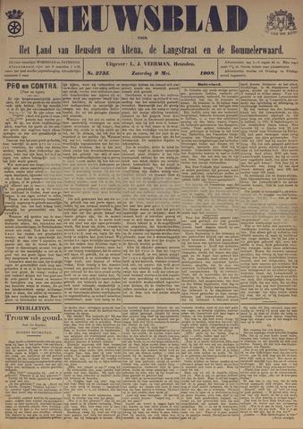 Nieuwsblad het land van Heusden en Altena de Langstraat en de Bommelerwaard 1908-05-09