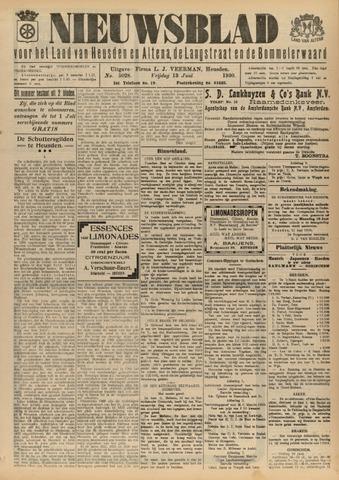 Nieuwsblad het land van Heusden en Altena de Langstraat en de Bommelerwaard 1930-06-13