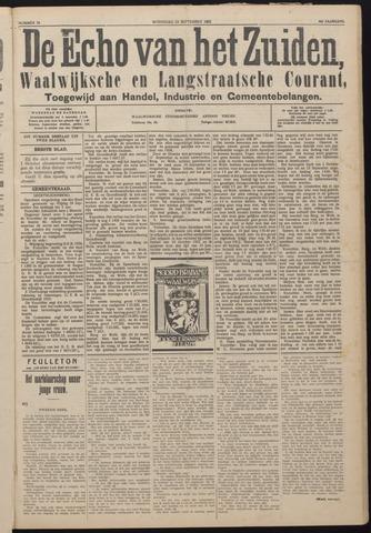 Echo van het Zuiden 1925-09-23