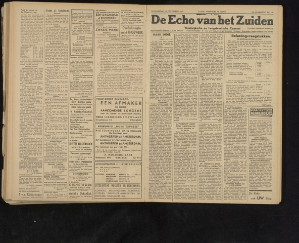 Echo van het Zuiden 1947-12-18