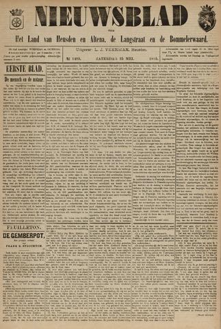 Nieuwsblad het land van Heusden en Altena de Langstraat en de Bommelerwaard 1895-04-25