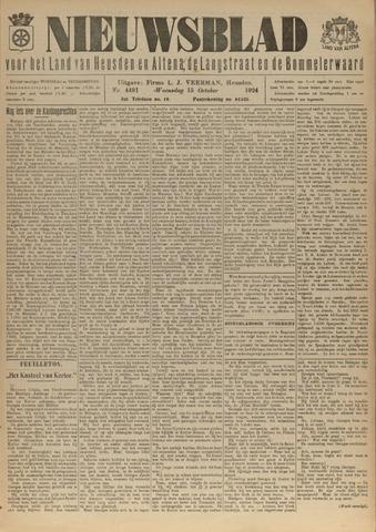 Nieuwsblad het land van Heusden en Altena de Langstraat en de Bommelerwaard 1924-10-15