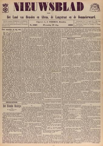 Nieuwsblad het land van Heusden en Altena de Langstraat en de Bommelerwaard 1909-08-18