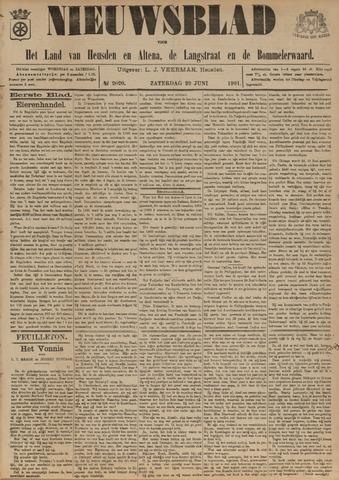 Nieuwsblad het land van Heusden en Altena de Langstraat en de Bommelerwaard 1901-06-29
