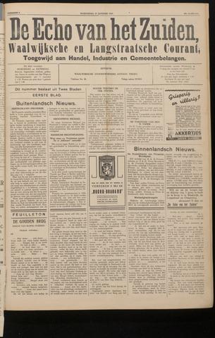Echo van het Zuiden 1937-01-27