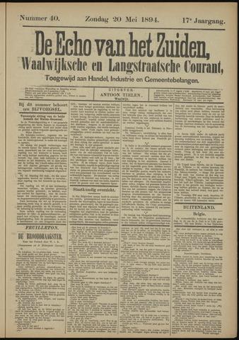 Echo van het Zuiden 1894-05-20