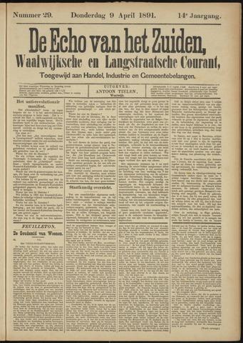 Echo van het Zuiden 1891-04-09