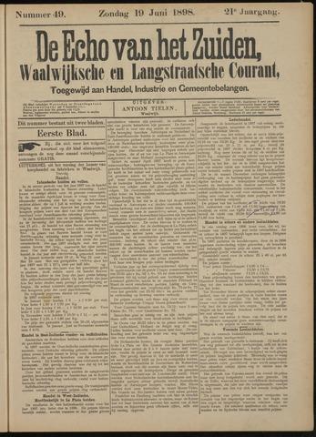Echo van het Zuiden 1898-06-19