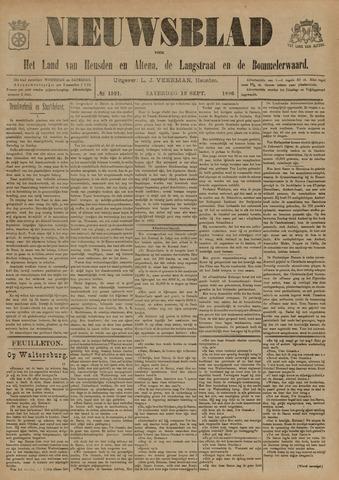Nieuwsblad het land van Heusden en Altena de Langstraat en de Bommelerwaard 1896-09-12