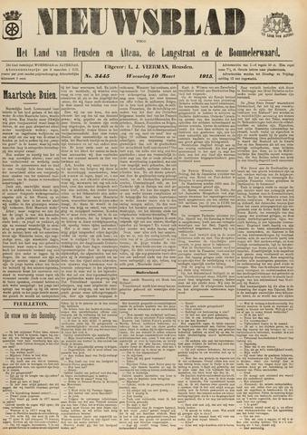 Nieuwsblad het land van Heusden en Altena de Langstraat en de Bommelerwaard 1915-03-10