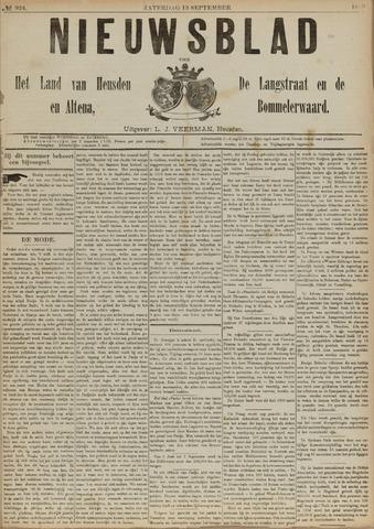 Nieuwsblad het land van Heusden en Altena de Langstraat en de Bommelerwaard 1890-09-13