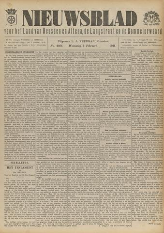 Nieuwsblad het land van Heusden en Altena de Langstraat en de Bommelerwaard 1921-02-09