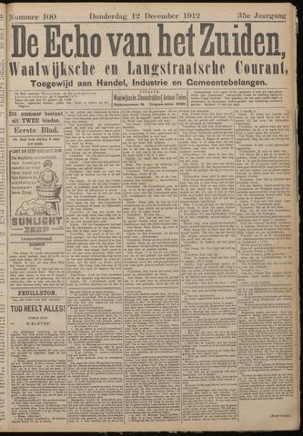 Echo van het Zuiden 1912-12-12