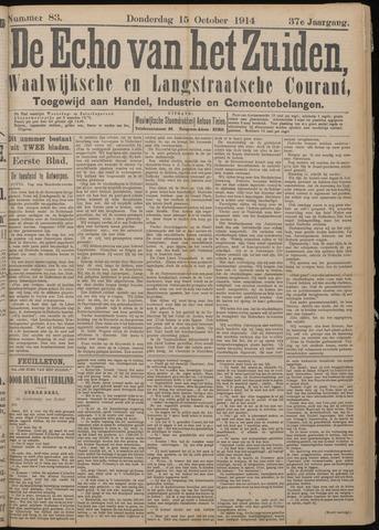 Echo van het Zuiden 1914-10-15
