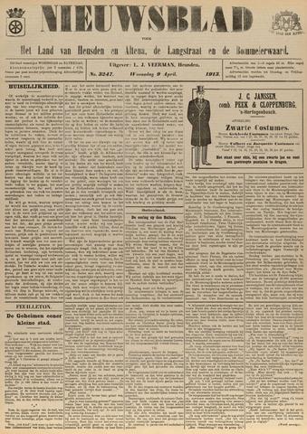 Nieuwsblad het land van Heusden en Altena de Langstraat en de Bommelerwaard 1913-04-09