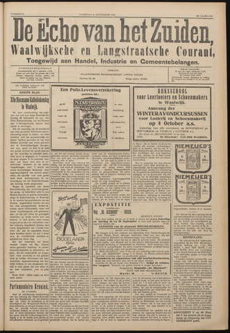 Echo van het Zuiden 1926-09-25
