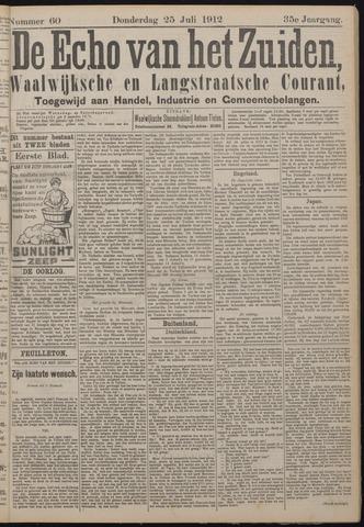Echo van het Zuiden 1912-07-25