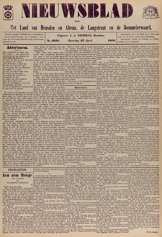 Nieuwsblad het land van Heusden en Altena de Langstraat en de Bommelerwaard 1910-04-23