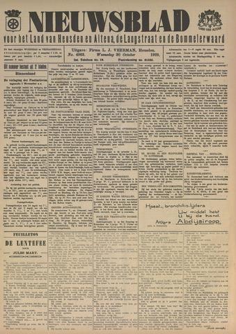 Nieuwsblad het land van Heusden en Altena de Langstraat en de Bommelerwaard 1929-10-30