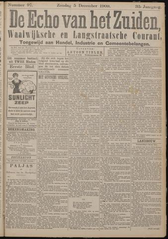 Echo van het Zuiden 1909-12-05