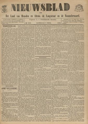 Nieuwsblad het land van Heusden en Altena de Langstraat en de Bommelerwaard 1903-02-07