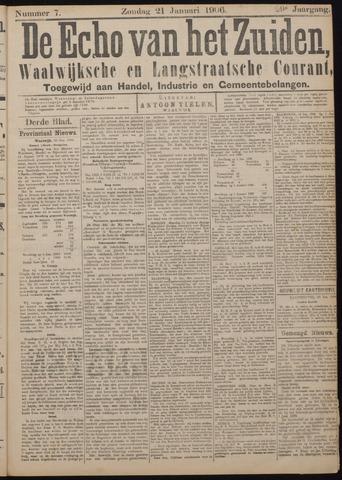 Echo van het Zuiden 1906-01-25