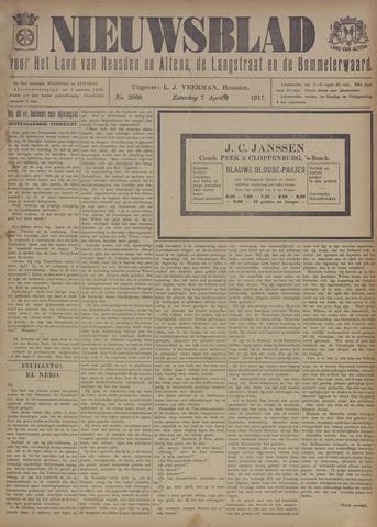 Nieuwsblad het land van Heusden en Altena de Langstraat en de Bommelerwaard 1917-04-07