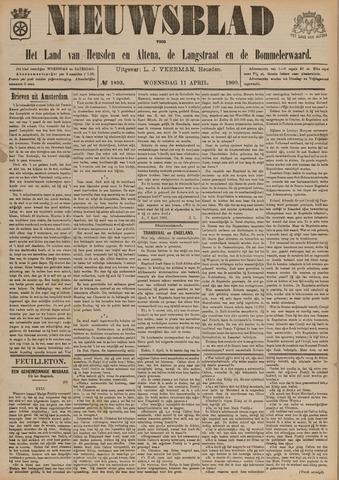 Nieuwsblad het land van Heusden en Altena de Langstraat en de Bommelerwaard 1900-04-11