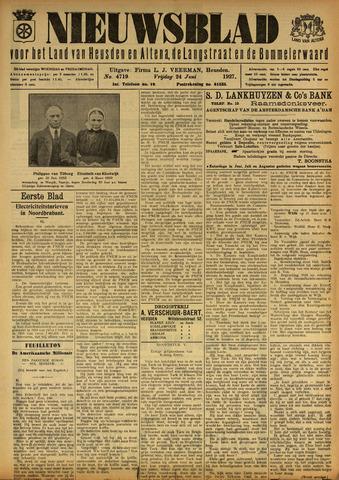 Nieuwsblad het land van Heusden en Altena de Langstraat en de Bommelerwaard 1927-06-24
