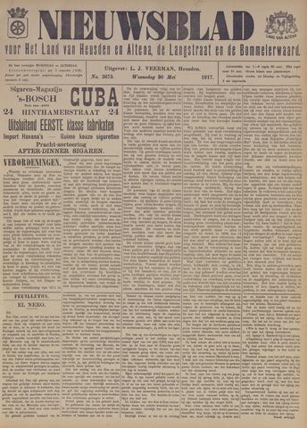 Nieuwsblad het land van Heusden en Altena de Langstraat en de Bommelerwaard 1917-05-30