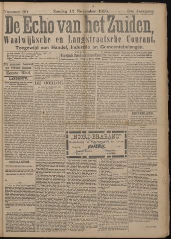 Echo van het Zuiden 1916-11-12