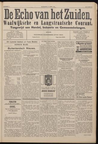 Echo van het Zuiden 1937-04-14