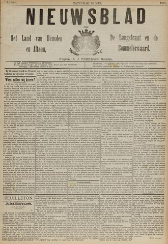 Nieuwsblad het land van Heusden en Altena de Langstraat en de Bommelerwaard 1891-05-30