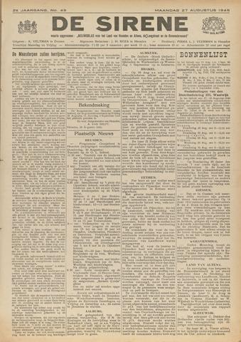 De Sirene 1945-08-27