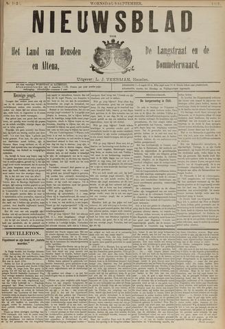 Nieuwsblad het land van Heusden en Altena de Langstraat en de Bommelerwaard 1891-09-09