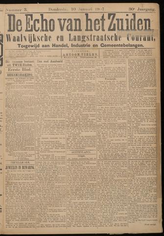 Echo van het Zuiden 1907-01-10