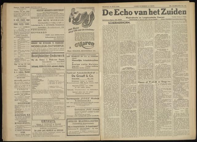 Echo van het Zuiden 1946-07-12