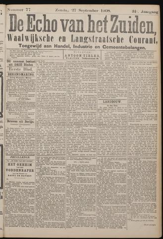 Echo van het Zuiden 1908-09-27
