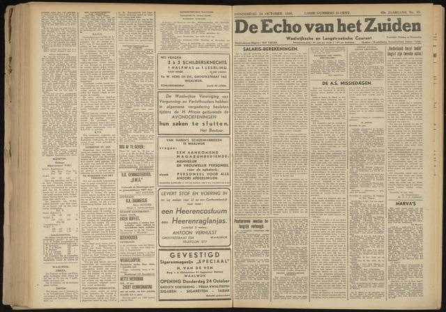 Echo van het Zuiden 1946-10-24
